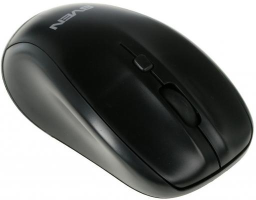 Мышь беспроводная Sven RX-305 чёрный USB