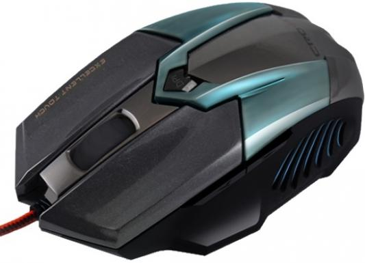 Мышь проводная Crown CMXG-606 синий чёрный USB мышь проводная crown cmxg 603