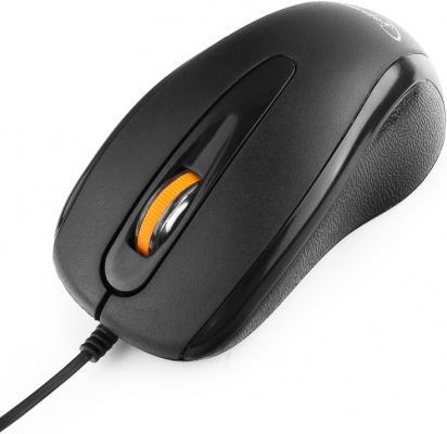 Мышь Gembird MUSOPTI8 -807U черный USB cтяжка пластиковая gembird nytfr 300x4 8 300мм черный 100шт