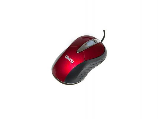 Мышь проводная Dialog Pointer Optical MOP-22SU оранжевый USB