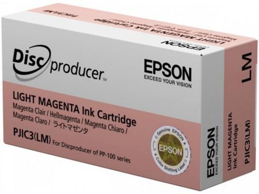 Картридж Epson C13S020449 для Epson PP-100 светло-пурпурный картридж epson t009402 для epson st photo 900 1270 1290 color 2 pack