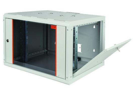 """Шкаф настенный 19"""" 7U Estap ProLine PRL7U45GF1 600x450mm серый"""