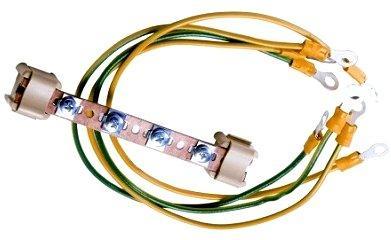 Комплект заземления Estap M44PEB01 шина+провода