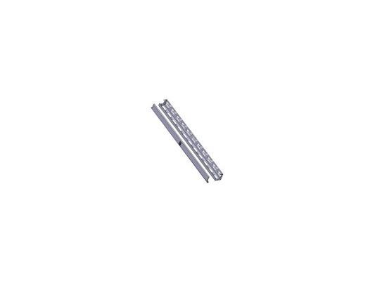 Вертикальный кабельный органайзер Estap M44ORG42G 42U левая и правая панели для шкафов Universal Line серый