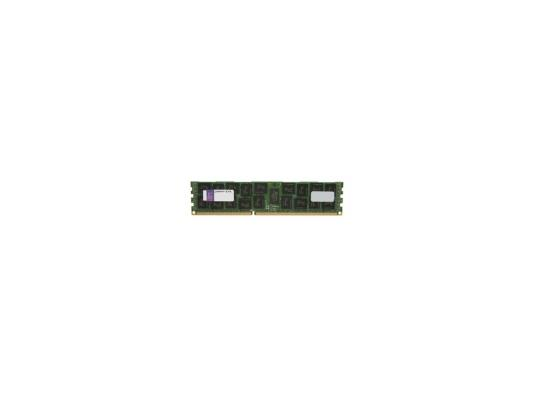 Оперативная память 8Gb PC3-12800 1600MHz DDR3 DIMM ECC Reg Kingston KTD-PE316LV/8G память ddr4 kingston kvr21r15s8k4 16 4х4gb dimm ecc reg pc4 17000 cl15 2133mhz
