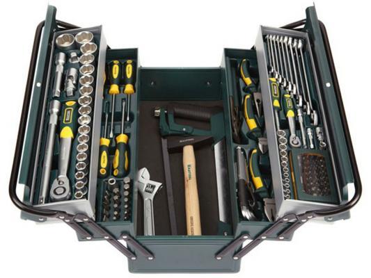 Набор инструментов Kraftool INDUSTRY 131шт 27978-H131 набор инструментов kraftool industry 131шт 27978 h131