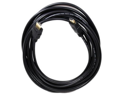 Кабель HDMI 2м TV-COM CG501N-2M круглый черный