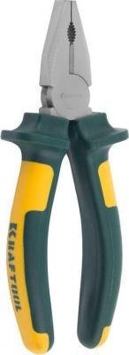 Плоскогубцы Kraftool KRAFT-МАХ 200мм 22011-1-20 плоскогубцы kraftool kraft max комбинированные 180мм 22011 1 18