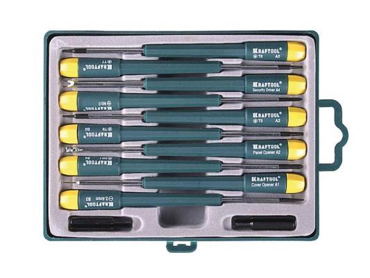 Набор отверточный Kraftool для ремонта телефонов 12шт 25616-H12