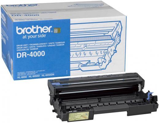 Картридж Brother DR-4000 для HL6050 6050D 6050DN 30000стр фотобарабан dr4000 brother dr 4000 до 30000 копий dr 4000