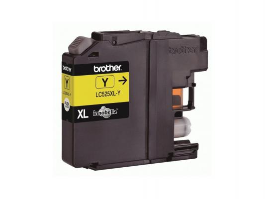 Картридж Brother LC-525XL Y for DCP-J100 J105 J200 желтый 1300стр
