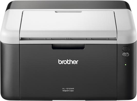 Принтер Brother HL-1212WR ч/б A4 20ppm 2400x600dpi Wi-Fi USB