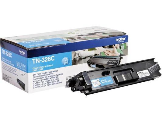 Картридж Brother TN-326C для HLL8250CDNMFCL8650CDW голубой 3500стр лазерный картридж brother tn 230c голубой для hl3040 dcp9010cn mfc9120cn