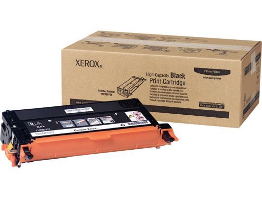 Картридж Xerox 113R00726 для Phaser 6180 черный 8000стр картридж xerox 108r00909 для phaser 3140 2500стр