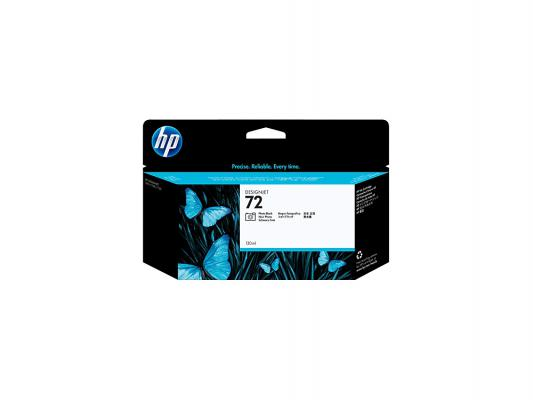 Картридж HP C9370A для DJ T610 T1100 черный картридж струйный hp 72 c9370a для hp dj t1100 t610 чёрный c9370a