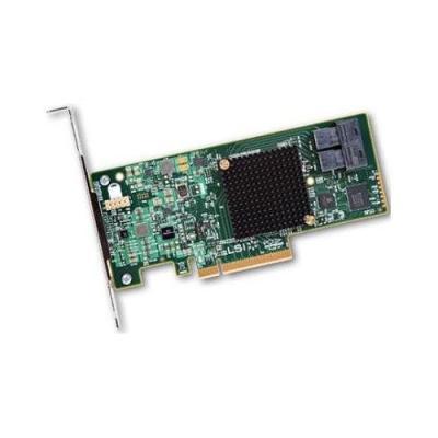 Контроллер SAS/SATA LSI MegaRAID SAS9300-8I PCI-E 3.0 x8 LP SGL LSI00344 sas 9211 8i sas9211 8i 8 channel card pci e 2 sas sata 6gb sata3 array card tested