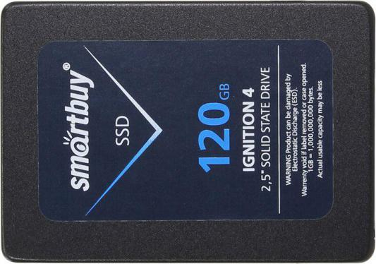 """SSD Твердотельный накопитель 2.5"""" 120Gb Smartbuy Ignition 4 SATAIII SB120GB-IGNT4-25SAT3"""