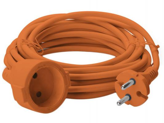Удлинитель Sven Elongator 2G оранжевый 1 розетка 20 м