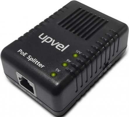 цена PoE-сплиттер Upvel UP-102S 10/100Mbps