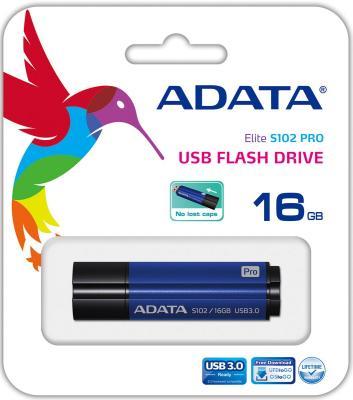 Флешка USB 16Gb A-Data S102P AS102P-16G-RBL голубой