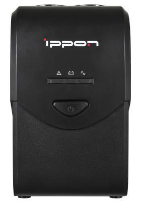ИБП IPPON BACK COMFO Pro 600VA черный 8 розеток