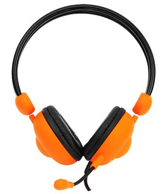 цена на Гарнитура Crown CMH-942 оранжевый