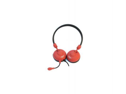Гарнитура Crown CMH-942 красный