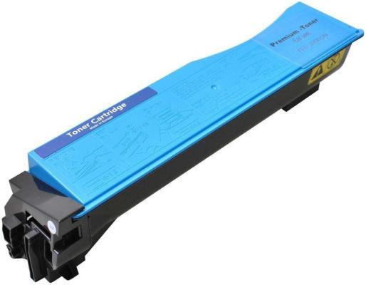 Картридж Kyocera TK-550C для FS-C5200DN голубой 6000стр new original kyocera 302hn94110 dc motor assy lsu for fs c5100dn c5200dn c5300dn