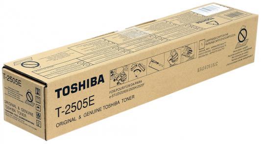 Тонер-картридж Toshiba T-2505E для e-STUDIO2505/2505H/2505F черный 12000стр toshiba t fc50ey