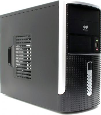 Корпус microATX InWin EMR001 450 Вт чёрный корпус microatx inwin en028 400 вт чёрный
