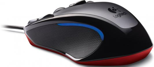 Мышь проводная Logitech G300S Gaming чёрный — 910-004345