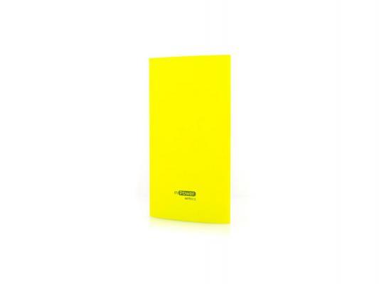Портативное зарядное устройство Gmini mPower Pro Series MPB601 Slim Yellow 6000mAh