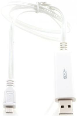 Кабель microUSB 0.8м Gmini mCable плоский MEL200