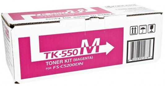 Картридж Kyocera TK-550M для FS-C5200DN пурпурный 6000стр