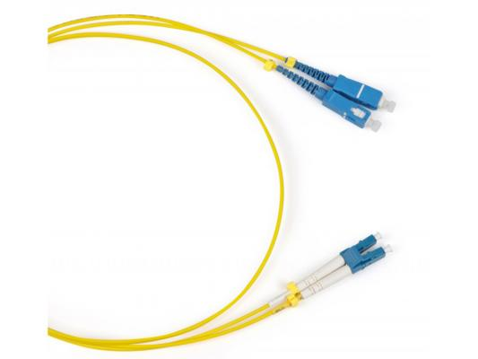 Патч-корд Hyperline FC-9-LC-SC-UPC-3M 3м патч корд vcom lc fc ups волоконно оптический шнур одномодовый simplex 3м vsu301 3m