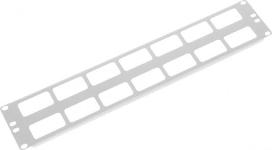 ЦМО Органайзер кабельный горизонтальный 19 2U ГКО-О-2 кабельный органайзер lenovo 7m27a05698 thinksystem 2u cma upgrade kit for toolless slide rail