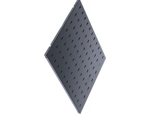 Купить ЦМО Полка перфорированная грузоподъёмностью 100 кг глубина 580 мм черный СВ-58У-9005