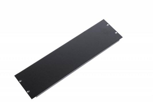 ЦМО Фальшпанель в шкаф 19 3U ФП-3-9005 черный