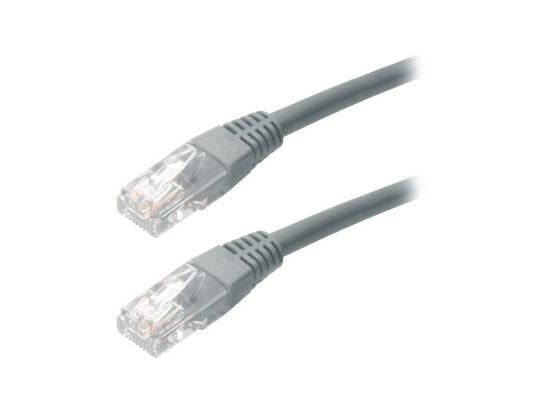 Патч-корд 5E категории UTP серый 20м серый