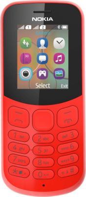 Мобильный телефон NOKIA 130 Dual Sim 2017 красный (A00021152) телефон