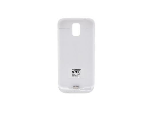 Чехол с аккумулятором Gmini mPower Case MPCS5 White для Galaxy S5 4200mAh чехол с аккумулятором gmini mpower case mpcs45f white для galaxy s4 4500mah flip cover