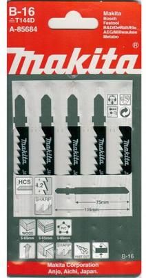 Лобзиковая пилка Makita A-85684 5шт