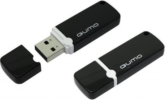 Флешка USB 8Gb QUMO Optiva 02 USB2.0 черный QM8GUD-OP2-black qumo optiva 01 16gb green