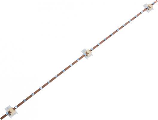 лучшая цена ЦМО Панель заземления вертикальная ПЗ-1000мм 200А ПЗ-1000-200А