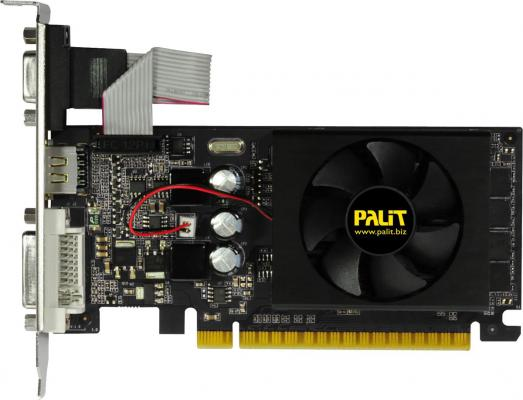 Видеокарта 1024Mb Palit GeForce GT610 1Gb 64bit DDR3 OEM