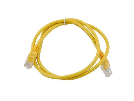 Патч-корд 5E категории UTP с RJ45 1.5м желтый
