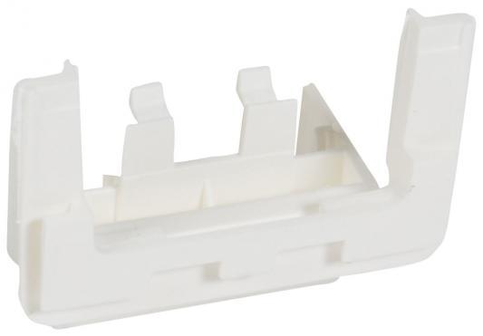 Адаптер на рамку Legrand mosaic для установки на торце мини-плинтуса dlplus 40X12,5/16 белая 31642