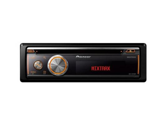 Автомагнитола Pioneer DEH-X8700BT USB MP3 CD FM RDS BT 1DIN 4x50Вт черный pioneer deh x8700bt автомобильный ресивер