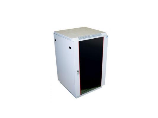 Шкаф напольный 27U ЦМО ШТК-М 27.6.10-1ААА 600x1000mm дверь стекло