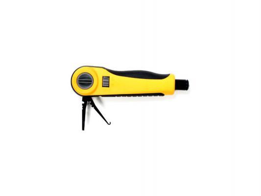 Инструмент Hyperline HT3640R для заделки контактов без ножа  набор инструментов hyperline ht ntk160 23370